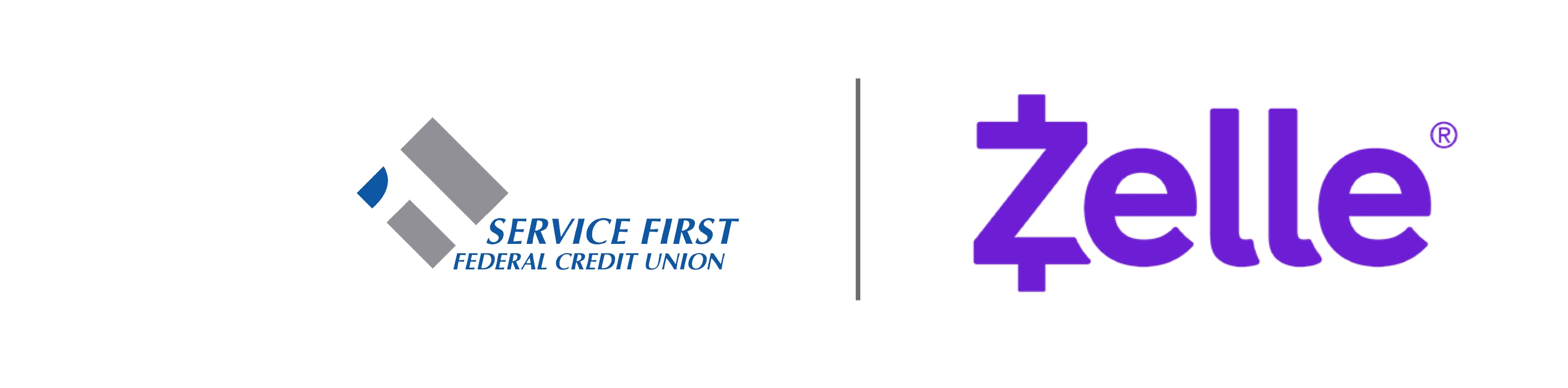 Service First FCU and Zelle
